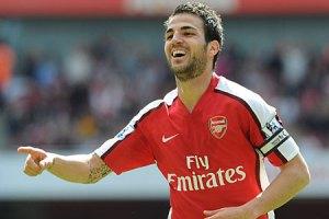 Fabregas bags a brace for Arsenal