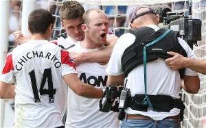 Rooney swearing