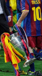 Lionel Messi Champions League Final