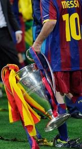 Lionel Messi Champions League Final